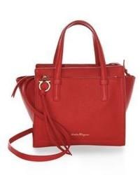 Salvatore Ferragamo Small Amy Leather Crossbody Bag