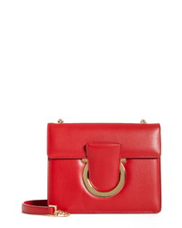 Salvatore Ferragamo Small Thalia Leather Shoulder Bag