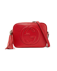 Gucci Soho Disco Textured Leather Shoulder Bag