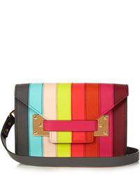 Sophie Hulme Milner Mini Envelope Leather Cross Body Bag