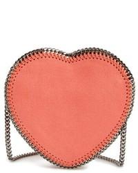 Stella McCartney Falabella Heart Faux Leather Crossbody Bag