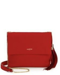 Lanvin Sugar Mini Leather Tasseled Crossbody Bag