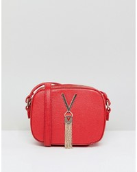 Valentino by Mario Valentino Tassel Detail Camera Cross Body Bag