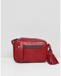 Pull&Bear Tassle Detail Xbody Bag