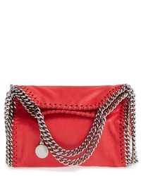 Stella McCartney Tiny Falabella Faux Leather Crossbody Bag Black
