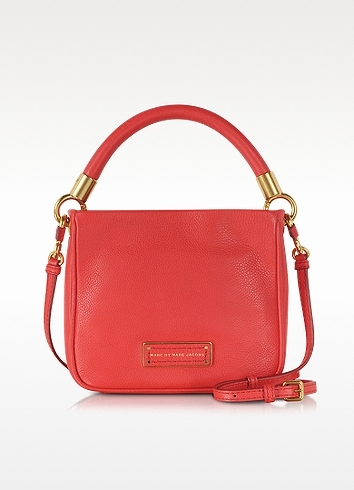 9b0e9bff3599 ... Marc by Marc Jacobs Too Hot To Handle Hoctor Cambridge Red Leather Crossbody  Bag ...