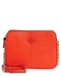 Tory Burch Ivy Leather Crossbody Bag Beige