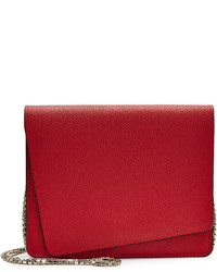 Valextra Twist Leather Shoulder Bag
