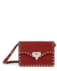 Valentino Garavani Valentino Rockstud Leather Crossbody Bag
