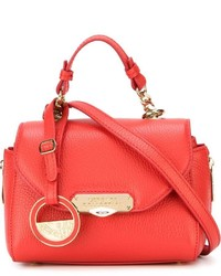 Versace Collection Mini Flap Crossbody Bag