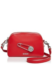 Versus Versace Safety Pin Leather Crossbody
