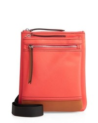 LODIS Los Angeles Zora Nylon Leather Crossbody Bag