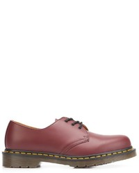 Dr. Martens Stitch Detailed Derby Shoes