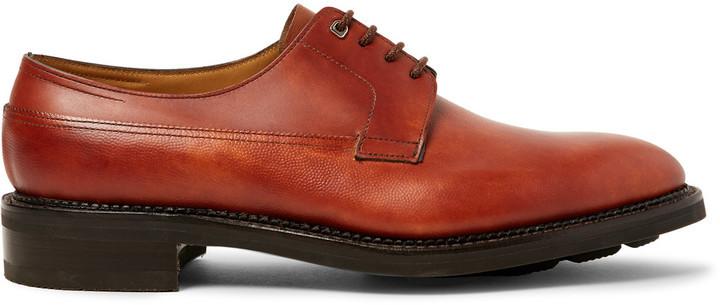 John Lobb Shoes >> John Lobb John Lobb Croft Panelled Leather Derby Shoes Where To