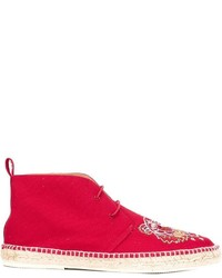 Kenzo embroidered desert boots medium 596668