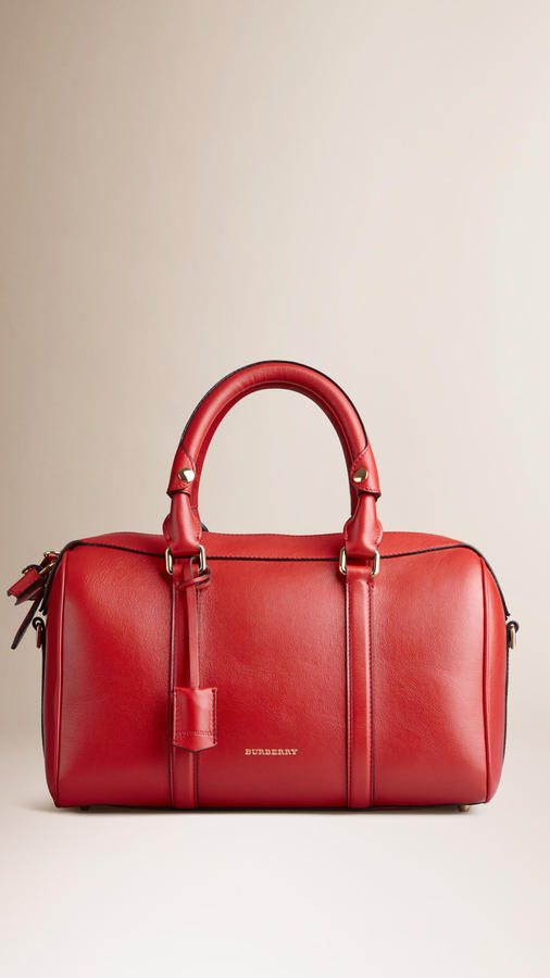 212b01351085 ... Bags Burberry Medium Leather Bowling Bag ...