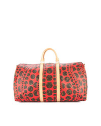 Louis Vuitton Vintage Yayoi Kusama Keepall Bandouliere 55 Travel Bag