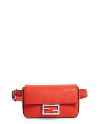 Fendi Calfskin Leather Belt Bag