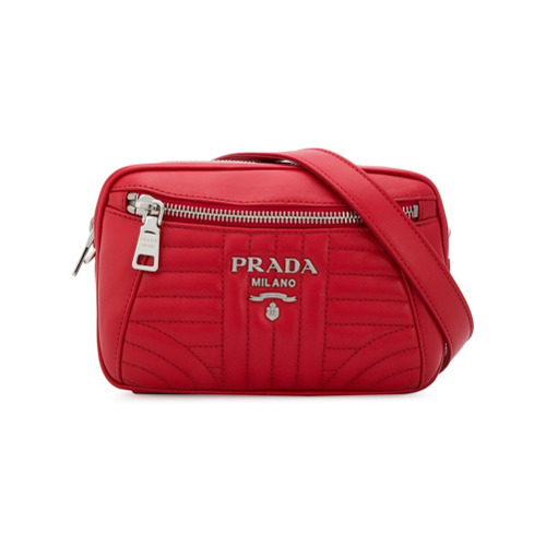 27207a224cd38d Prada Diagramme Belt Bag, $1,009 | farfetch.com | Lookastic.com