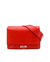 MSGM Leather Belt Bag