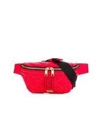 Karl Lagerfeld Quilted Studded Belt Bag