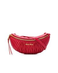 Miu Miu Ribbed Belt Bag