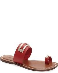 Bernardo molly toe loop flat sandal medium 716223