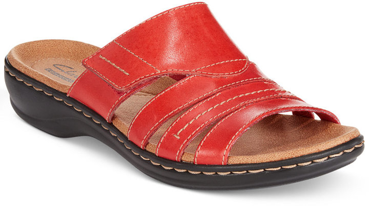 a5abc5747227 ... Clarks Collection Leisa Grove Flat Sandals ...