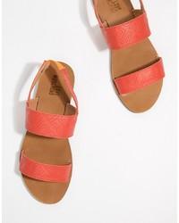 Love Moschino Flat Sandals