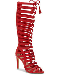 Vince Camuto Olivian Lace Up Tall Gladiator Heel | Where to buy ...
