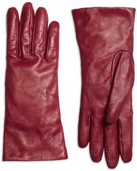 Brooks Brothers Cashmere Lined Leather Gloves