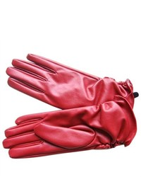 PDS Online New Fashion Leather Winter Warm Dress Gloves