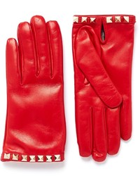 Nobrand Rockstud Short Leather Gloves