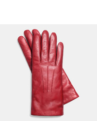 Coach Short Leather Glove