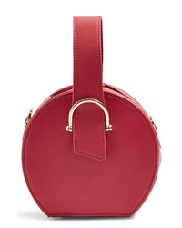 Red Leather Handbag