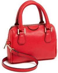 Topshop Faux Leather Crossbody Bag
