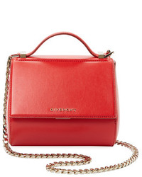 Givenchy Pandora Box Mini Leather Chain Crossbody