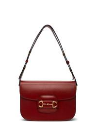 Gucci Red 1955 Horsebit Bag