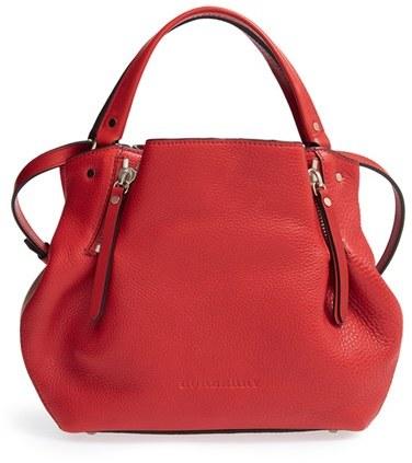 03f3aecf6cf0 ... Handbags Burberry Small Maidstone Leather Satchel ...