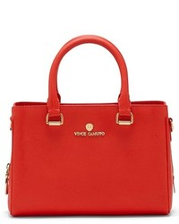 Vince Camuto Small Thea Leather Satchel