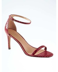 Banana Republic Bare High Heel Sandal