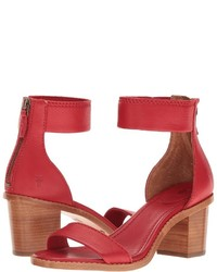 Frye Brielle Back Zip Dress Sandals