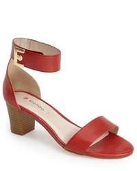 Blondo Dalina Leather Ankle Strap Sandal