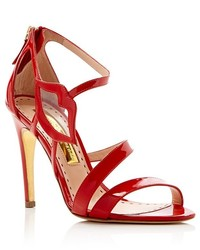 Rupert Sanderson Kiss Lip High Heel Sandals