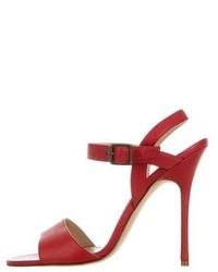 sale hot sale 100% authentic cheap online Manolo Blahnik Leather Multistrap Sandals UF9QrRCVdq