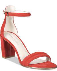 Kenneth Cole New York Lex Block Heel Sandals Shoes
