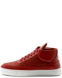 Filling Pieces Mid Top Sneaker