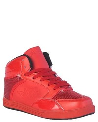 Gia mia gia mia dance sneakers red medium 204630