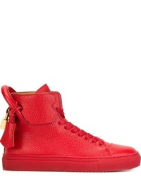Buscemi Hi Top Padlock Sneakers