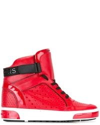 MICHAEL Michael Kors Michl Michl Kors Lasered Hi Top Sneakers
